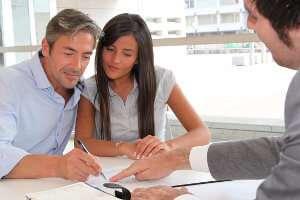 Заполнение клиентом анкеты на кредит