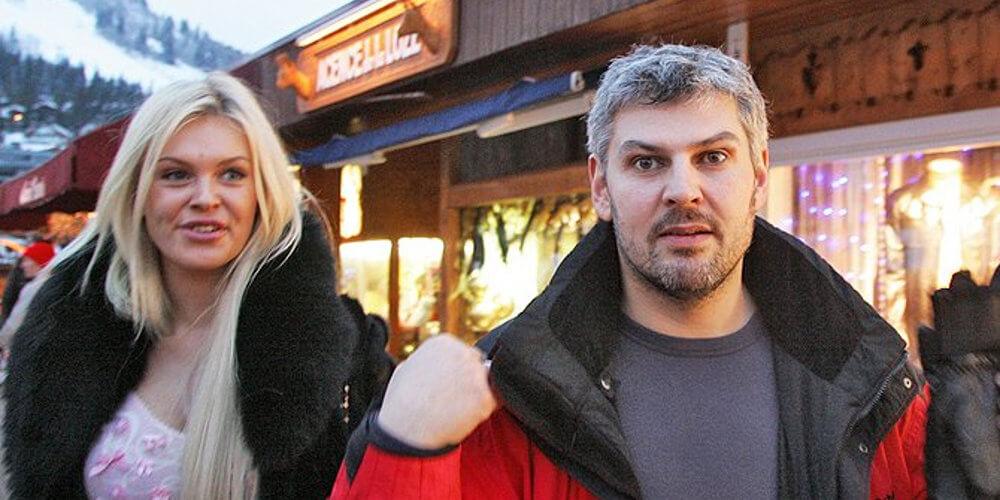 Николай Саркисов с первой женой