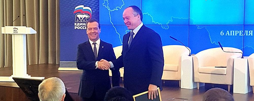 Андрей Скоч и Единая Россия