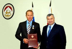 Игорь Кесаев награждён