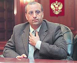 Игорь Юсуфов - министр энергетики