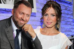 Полина и Олег Дерипаска