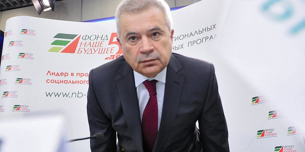 Вагит Алекперов меценат